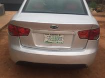 2010 Kia Cerato Silver Manual Nigerian Used
