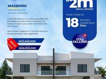 4 BEDROOM SEMI DETACHED DUPLEX FOR SALE AT MAGBORO