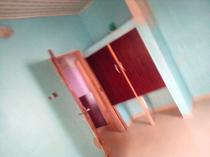 A 2 bedroom flat at satellite town for 420 to renew 350