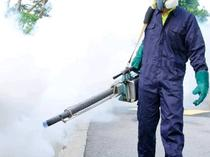 Fumigation and cleaning at maximum level
