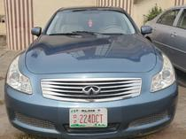 2008 Infiniti G35  Automatic Foreign Used