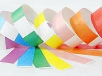 TYVEK PAPER PARTY WRISTBANDS