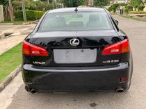 2008 Lexus IS 250 Black Automatic Foreign Used