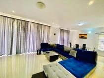 A fully furnished 3 bedrooms terrace on Lekki. 70k per day.