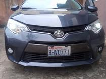 2015 Toyota Corolla Gray Automatic Foreign Used