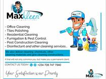 MaxKleen Janitorial service